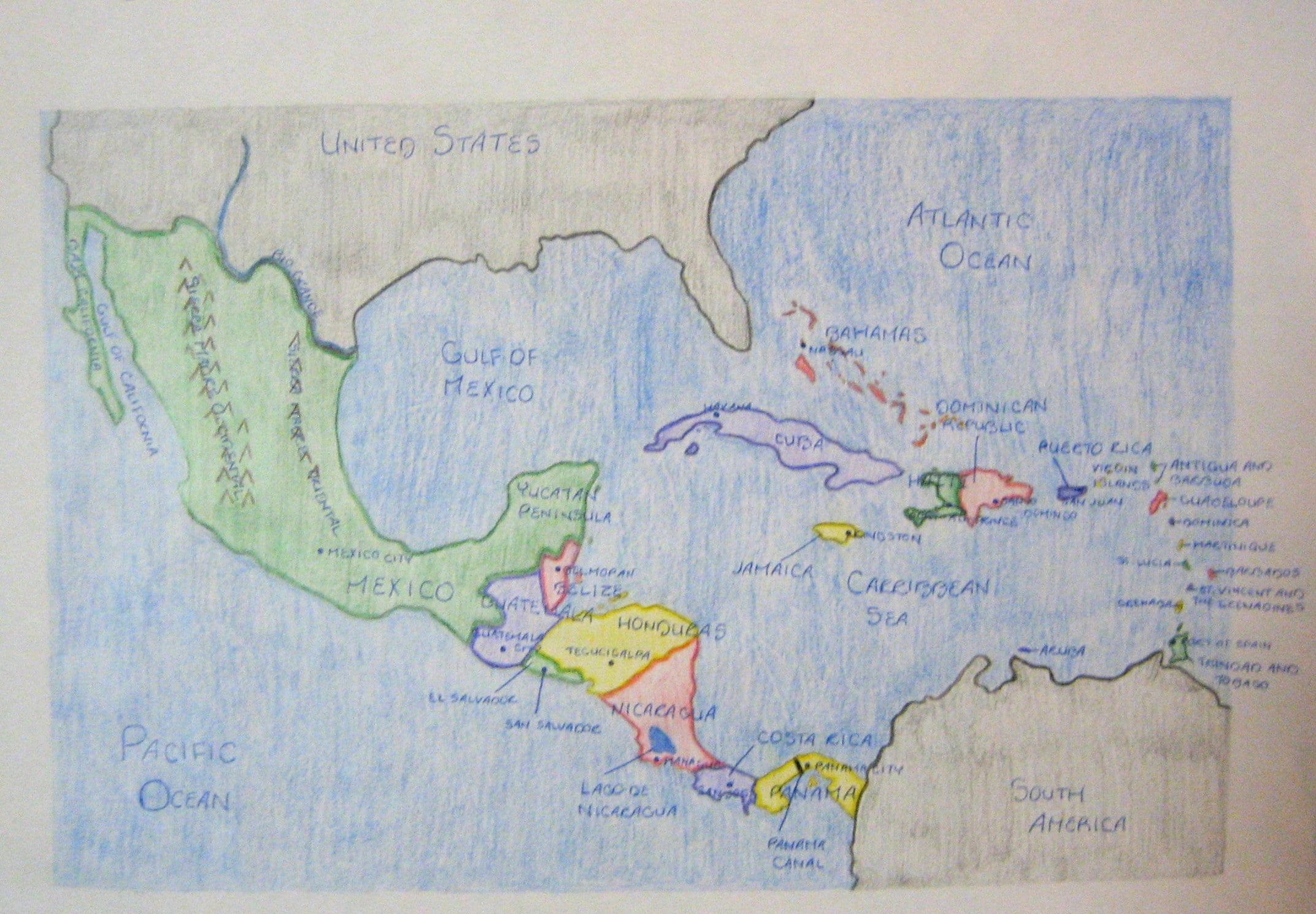 sample student map pictures
