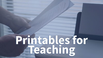 Freely Printable Lesson Plans and Other Teaching Content